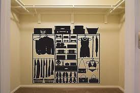 Wall Stickers Luggage Storage Closet Clothes Handbags Shoes Vinyl Deca Wallstickers4you