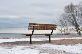 Image result for empty park in winter