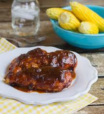 sweet and tangy oven barbecued en