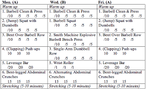 simple strength program