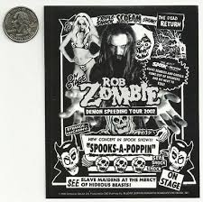 White Zombie New Vinyl Sticker Decal Rock Metal Music Band Car Bumper Rob