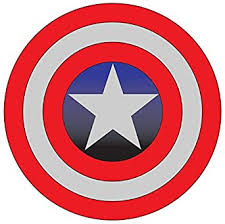 Amazon Com Captain America 4 To 14 Full Color Vinyl Decal Sticker Sports Outdoors