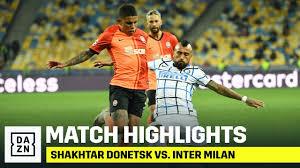 HIGHLIGHTS | Shakhtar Donetsk vs. Inter Milan (Champions League 2020-2021)  - YouTube
