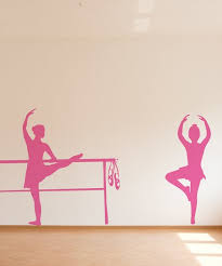 Sissy Little Pink Bella Ballerina Wall Decal Best Price And Reviews Zulily