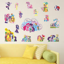 New My Little Pony Wall Stickers Wall Decals Wall Stickers For Kids Ireland