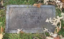 Addie Inskip Burns (1867-1936) - Find A Grave Memorial