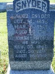 Susannah Lawrence Snyder (1840-1915) - Find A Grave Memorial