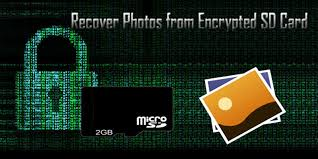 recover photos from encrypted sd card
