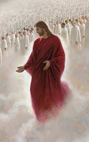 Behold, He is coming with the clouds, and every eye will see Him. (Rev.1:7) He is dressed in a robe dipped in … | Jesus pictures, Jesus, The church of jesus christ