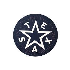 Texas Star Decal Paris Texas Apparel Co