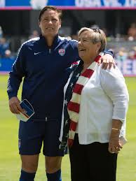 Abby Wambach's mother offered advice on retirement: 'Give it time'