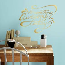 Do Something Awesome Quote Peel And Stick Wall Decals Peel And Stick Decals The Mural Store