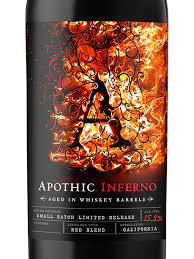apothic inferno aged in whiskey