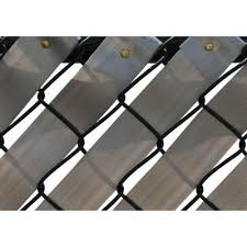 Fence Weave Roll In Silver 250 Ft Dec Fence Weaving Chain Link Fence Fence Slats