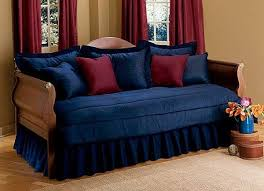 patriotic red white blue daybed set