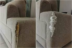 hole in couch