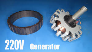 220v ac generator test and review you