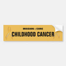 Childhood Cancer Bumper Stickers Decals Car Magnets Zazzle