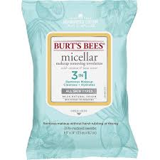 micellar makeup removing towelettes