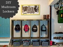 Diy Mudroom Lockers Garage Mudroom Makeover East Coast Creative