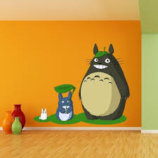 Shop Totoro Full Color Wall Decal Sticker An 5 Frst Size 20 X31 Multicolor Overstock 20672676
