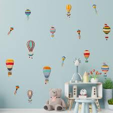 Harriet Bee 15 Piece Colourful Hot Air Balloons Wall Decal Set Wayfair