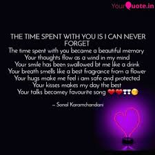 the time spent you i quotes writings by sonal