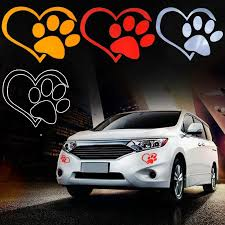 Animals 16 1 Inch Paw Prints Holographic Car Window Decal Sticker Cat Tracks 5 Inch Cats Collectibles