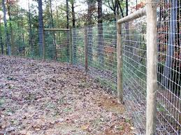 Goat Fencing Woven Horse Wire Also Known As No Climb Fence Because The Holes Goat Fence Livestock Fence Dog Fence