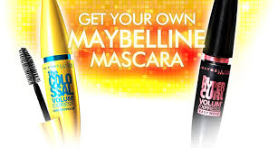 claim your maybelline l mascara today