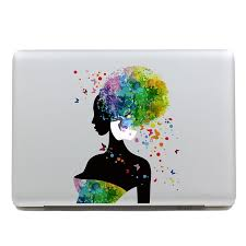 Shop Geekid Macbook Decal Sticker Partial Decal Macbook Pro Decal Girl Macbook Air Decal Apple Sticker Mac Retina Decals Stickers Online From Best Laptop Accessories On Jd Com Global Site Joybuy Com