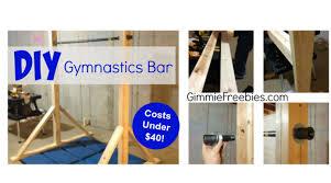 gymnastic practice mini bar