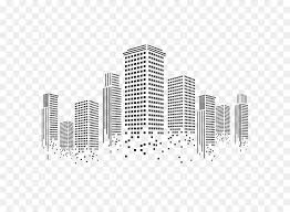 Skyline City Png Download 650 650 Free Transparent Wall Decal Png Download Cleanpng Kisspng