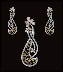 diamond pendant set jewellers