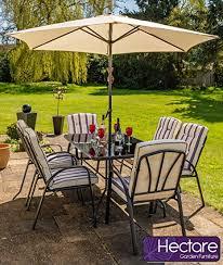 6 seater garden patio dining furniture