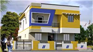 Indian House Front Boundary Wall Design Youtube