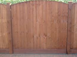 6ft X 5ft 6 Arch Top Feather Edge Fence Panels
