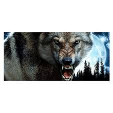 Bad Moon Rising Wolf Wolves 3 Pack Of Vinyl Decal Stickers 5 Walmart Com Walmart Com
