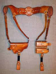 tandy leather shoulder holster made