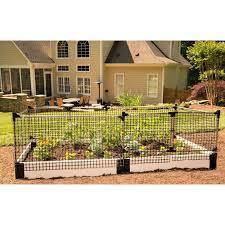Stack Extend Animal Barrier Fencing Garden Netting Garden Fence Panels Cedar Raised Garden Beds