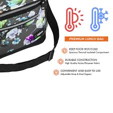 insulated lunch bag for men women