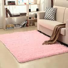 Pagisofe Soft Girls Room Rug Baby Nursery Decor Kids Room Carpet 4 X 5 3 Pink Wish