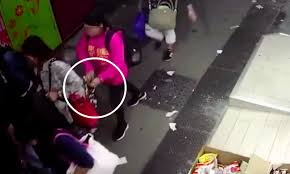 Footage shows pickpocket stealing from domestic worker - Asia Times