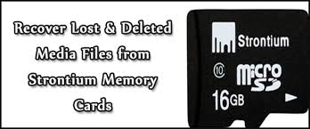recover data from strontium memory card