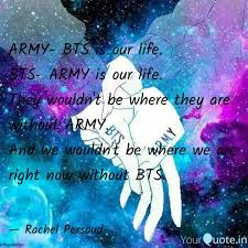 army bts is our life bt quotes writings by masked girl