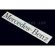 Mercedes Benz Windshield Decal Style 1