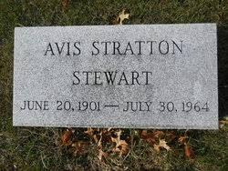 Avis Stratton Stewart (1901-1964) - Find A Grave Memorial