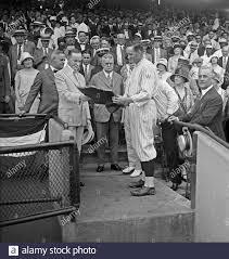 Calvin Coolidge and Walter Johnson in stands; Washington baseball ca. 1925  Stock Photo - Alamy