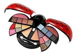 cute make up kit with eyeshadow blush