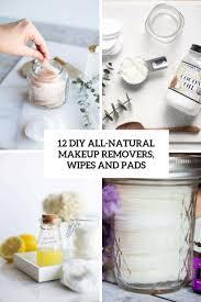 12 diy all natural makeup removers